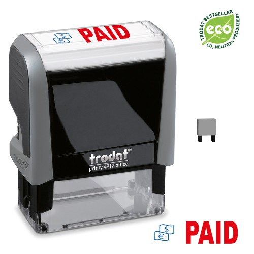 Trodat Office Printy 4912 'PAID'
