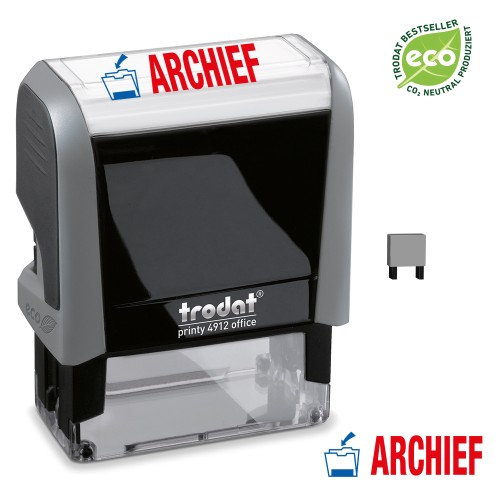 Trodat Office Printy 4912 'ARCHIEF'